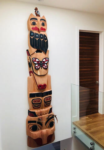 Totem on Wall